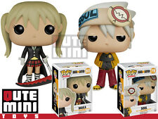 FUNKO POP JAPAN ANIMATION SOUL EATER MAKA SET OF 2 6369 6370 FIGURES - IN STOCK