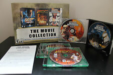 Movie Collection  (PC, 2003) *Tested/Star Wars Galactic Battlegrounds/Indiana