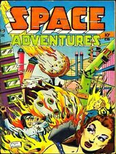 SPACE ADVENTURES COMICS GOLDEN AGE COLLECTION PDF ON CD