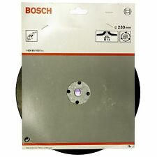 "BOSCH 230MM 9""  M14  BACKING PAD FOR FIBRE SANDING DISCS ON ANGLE GRINDER"