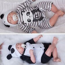 "CHEAP 20""Handmade Full Body Silicone Reborn Baby Soft Newborn Boy Doll Toy Gift"