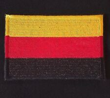GERMAN FLAG OF GERMANY DEUTSCHLAND COUNTRY VELCRO® BRAND MORALE BADGE PATCH