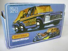 Repro Box Matchbox SuperKings K 6 Motorrad Transporter