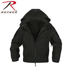 Rothco 9767 Black Special Ops Tactical Soft Shell Jacket NEW - size M