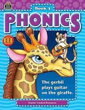 Phonics Book 3 (Phonics (Teacher Created Resources)) by Crane, Kathy Dickerson,