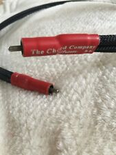 The Chord Company Anthem Reference 1m stereo RCA interconnect