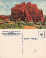USA - Vista of the Garden of The Gods Colorado Showing the Massive (S-L XX391)