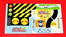 Vtech Go! Go! Smart Wheels Police Station REPLACEMENT STICKER LABEL SHEET - NEW
