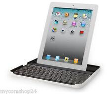 Logitech Bluetooth Tastatur für iPad 2 3 Alu Schutz + Keyboard by ZAGG NEU OVP
