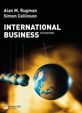 International Business by Alan M. Rugman and Simon Collinson (2008, Paperback)