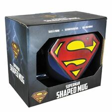 Official DC Comics Superman 3d Shaped Mug Coffee Tea Large Cup
