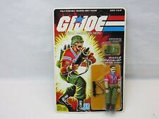 Vintage,GI JOE,1985 BAZOOKA !! 34 BACK,MOC,SEALED,Action Figure,ARAH,UNPUNCHED