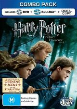 Harry Potter And The Deathly Hallows Part 1 (Blu-ray, 2011, 2-Disc Set) New D53