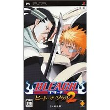 PSP Portable BLEACH HEAT THE SOUL 2 Japan Game F/S