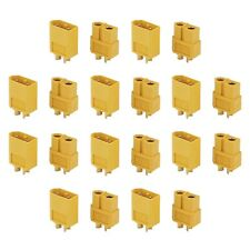 30 Pairs  XT60 Male & Female Bullet Connectors Plugs For RC LiPo Battery
