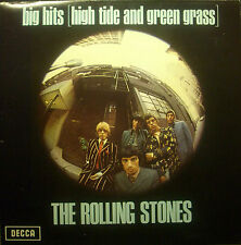 LP ROLLING STONES - big hits (high tide . . .), mono, Insert, FOC, NL TXS 101