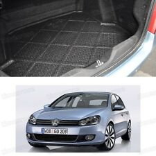 1x Black Car Boot Cargo Mat Trunk Liner Tray for VW Golf MK6 2009-2012 10 11