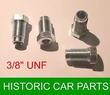 "4 - 3/8"" UNF Male STEEL Plated Brake Nuts for MGB Roadster & MGBGT 1962-78"