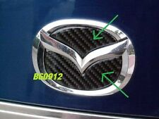 03-11 MAZDA3 MAZDASPEED3 CARBON FIBER TRUNK EMBLEM INSERT FOR MAZDA