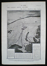 ITALIAN ARCTIC EXPEDITION DUKE OF ABRUZZI NORTH POLE POLAR 1pp ARTICLE 1900