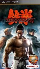 Used PSP Tekken 6  Japan Import ((Free shipping))