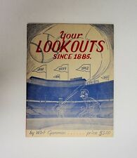 1955 Chattanooga Lookouts Historical Magazine by Wirt Gammon RARE