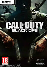 Call Of Duty Black Ops for PC Brand New Factory Sealed
