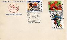 Repubblica Italiana 1979 FDC Cavallino Giornata del Francobollo