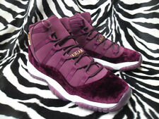 AIR JORDAN XI 11 RETRO RL GG US7 (852625 650) NIGHT MAROON RED VELVET HEIRESS