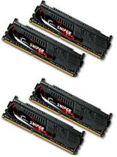 32GB G.Skill DDR3 PC3-17000 2133MHz Sniper Series CL10 Quad Channel kit (4x8GB)