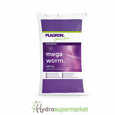 PLAGRON ORGANIC WORM HUMUS CASTINGS 25L  SOIL IMPROVER PLANT HEALTH