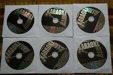 6 CDG LOT ROCK & OLDIES KARAOKE EAGLES,JOHN LENNON,JOE COCKER,MARY WELLS CD+G