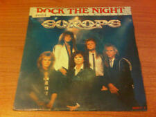 "7"" 45 GIRI EUROPE ROCK THE NIGHT EPIC  EPC 650171 7 VG/EX HOLLAND PS 1985  DST"