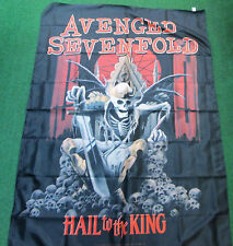AVENGED  SEVENFOLD TEXILE POSTER FLAG  RARE NEW SEALED HAIL TO THE KING KING