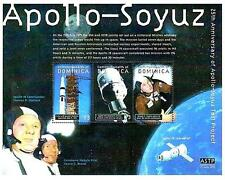 DOMINICA 2000 SPACE / APOLLO-SOYUZ M/S SC#2226 MNH ** FREE POSTAGE is POSSIBLE