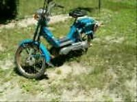 BARN FIND VESPA MOPED PIAGGIO BRAVO MOPED 1978 BLUE