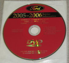 2005 Lincoln Aviator Service Workshop Manual Set DVD