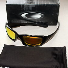 OAKLEY FIVES SQUARED MOTOGP POLISHED FRAME W/ FIRE IRIDIUM LENS SUNGLASSES