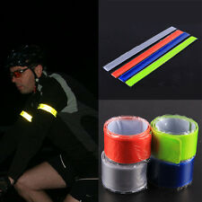 Safe Bicycle Motorcycle Cycling Reflective Wheel Rim Glitter Sticker Tape Decals