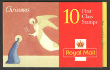 GB QEII BARCODE BOOKLET LX11 1996 CHRISTMAS NATIVITY STAMPS SG 1951 x 10