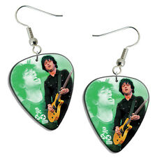 Green Day Live Performance Guitar Pick Plectrum EARRINGS Collection B