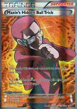 Pokemon TCG XY PRIMAL CLASH : MAXIE'S HIDDEN BALL TRICK FULL ART 158/160