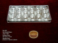 Magnetic Chocolate Mould...Professional...18  10g Oval Pieces... No.903
