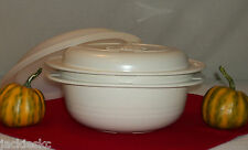 Tupperware 3pc Ultra 21 Casserole 2 Qt ~Microwave ~Conventional ~Convection Oven