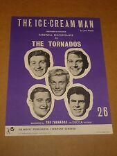 "Tornados ""ICE Cream Man"" Joe Meek Partituras Rgm/"