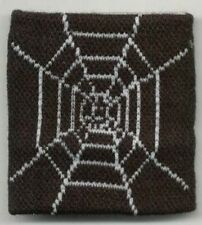 Unisex Black and White Spider Web Wristband/Sweatband - Brand New