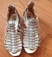 Kors by Michael Kors Gold Sandle Youth Size 3 European Size 36