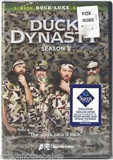DUCK DYNASTY Season 3 Duck-luxe Edition 2-Disc DVD Box Set - A&E - NEW/SEALED