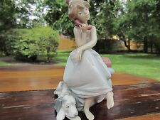 RETIRED LLADRO PORCELAIN CHIT CHAT # 5466