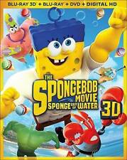 SpongeBob Squarepants Movie: Sponge out of Water (3D Blu, 2015) 3D Blu-ray Only